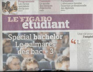 Figaro etudiant 27 janv 10